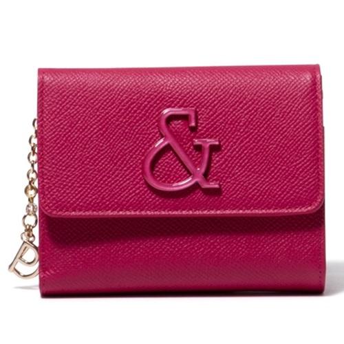 ピンキー&ダイアン 財布 折財布 がま口 &ブローチ ローズピンク Pinky&Dianne ピンキー ダイアン ピンダイ