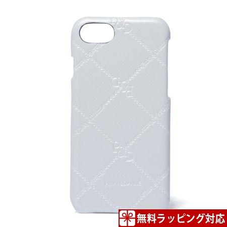 ピンキー&ダイアン スマホケース レディース スマートフォンハードケース iPhone6/6s/7対応 チェックエナメル ホワイト Pinky&Dianne ピンキー ダイアン ピンダイ