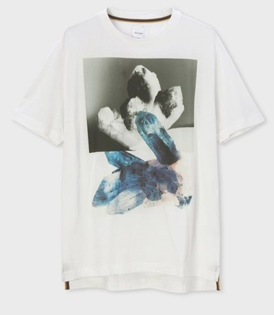 ポールスミス Tシャツ Precious Stones ホワイト S Paul Smith ポール スミス