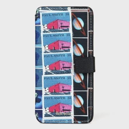 ポールスミス スマホケース レディース スタンププリント iPhone ケース 001 Paul Smith ポール スミス