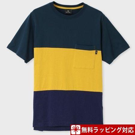 ポールスミス Tシャツ メンズ African Flag コントラストステッチ 001 XL Paul Smith