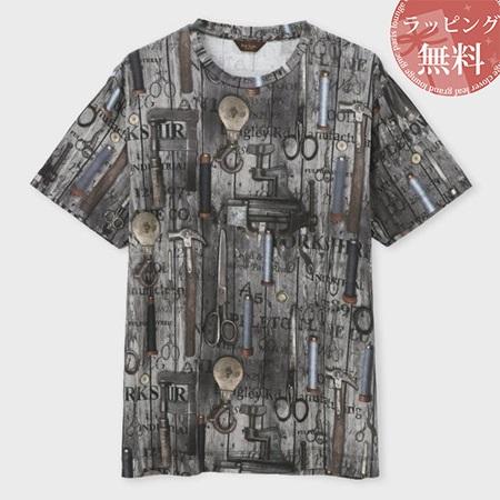 ポールスミス Tシャツ メンズ ウィロームーアミルズプリント グレー XL Paul Smith