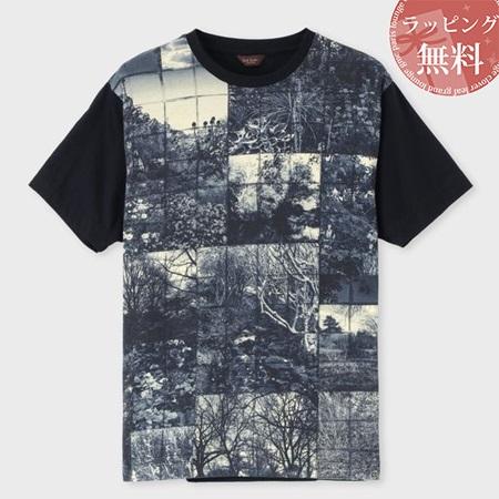 2019年最新入荷 ポールスミス Tシャツ S メンズ ヨークシャーメドウズプリント Paul ネイビー S ネイビー Paul Smith:クローバーリーフ, あがっしゃい総本舗:6c33122d --- nagari.or.id