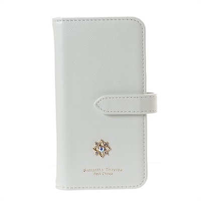 サマンサタバサプチチョイス フラワーモチーフシリーズ iPhone8ケース ホワイト SamanthaThavasaPetitChoice