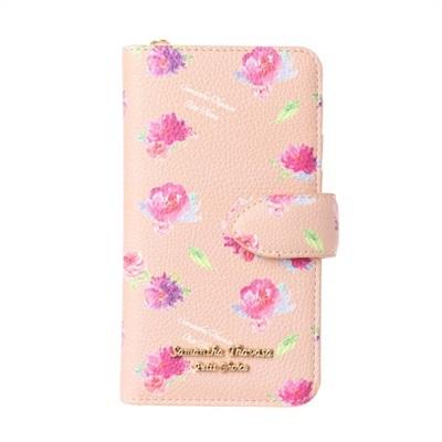 サマンサタバサプチチョイス フラワープリントシリーズ iPhone8ケース ベージュ SamanthaThavasaPetitChoice