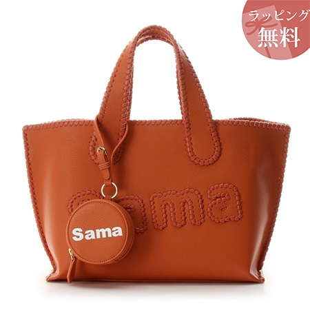 サマンサタバサ バッグ トートバッグ サマタバトートバッグ 大 Revival Collection オレンジ Samantha Thavasa サマンサ タバサ