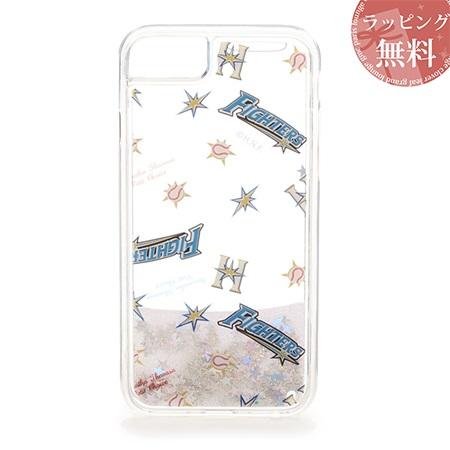 サマンサタバサ スマホケース 北海道日本ハムファイターズ コラボ iphoneケース 7-8 クリア SamanthaThavasaPetitChoice