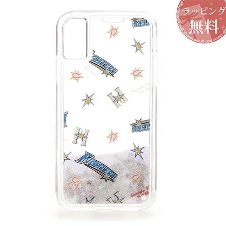 サマンサタバサ スマホケース 北海道日本ハムファイターズ コラボ iphoneケース X-XS クリア SamanthaThavasaPetitChoice