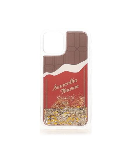 サマンサタバサ モバイルケース チョコレートコレクション iphone11PROケース ブラウン SamanthaThavasaPetitChoice サマンサ タバサ プチチョイス