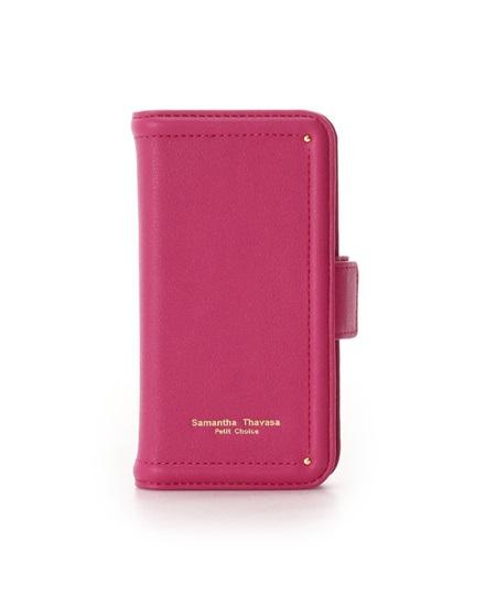 サマンサタバサ モバイルケース iphone11pro シンプルステッチ フューシャピンク SamanthaThavasaPetitChoice サマンサ タバサ プチチョイス