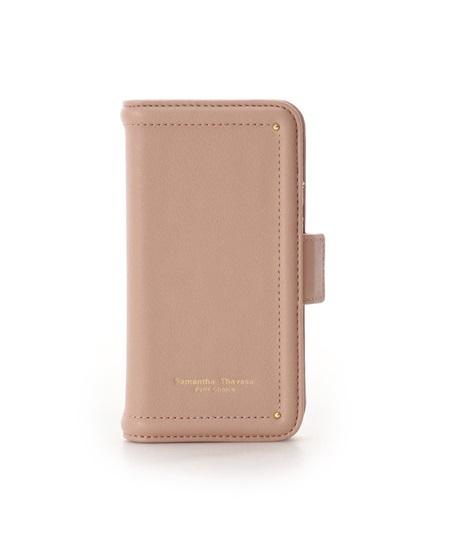 サマンサタバサ モバイルケース iphone11pro シンプルステッチ ベージュ SamanthaThavasaPetitChoice サマンサ タバサ プチチョイス