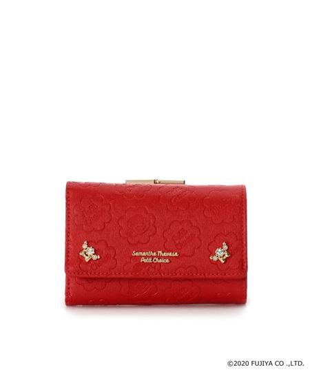 サマンサタバサ 折財布 ペコちゃんコレクション レッド SamanthaThavasaPetitChoice サマンサ タバサ プチチョイス