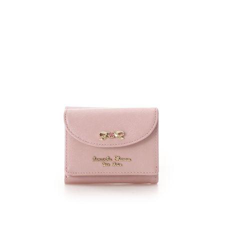 サマンサタバサ 折財布 パールエナメル ピンク SamanthaThavasaPetitChoice サマンサ タバサ プチチョイス