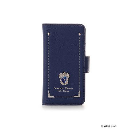 サマンサタバサ モバイルケース ハリー・ポッター iphoneX-Xsケース レイブンクロー ブルー SamanthaThavasaPetitChoice サマンサ タバサ プチチョイス