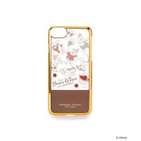 サマンサタバサ モバイルケース ディズニーコレクション 白雪姫 iphoneケース iphone 7-8 ブラウン SamanthaThavasaPetitChoice サマンサ タバサ プチチョイス