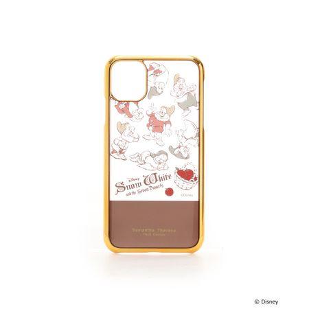 サマンサタバサ モバイルケース ディズニーコレクション 白雪姫 iphoneケース iphone 11 ブラウン SamanthaThavasaPetitChoice サマンサ タバサ プチチョイス