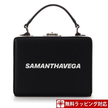 サマンサタバサ バッグ ショルダーバッグ 藤井夏恋ディレクションライン Box Type Shoulder Bag ブラック Samantha Vega サマンサ ベガ