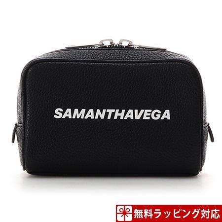 サマンサタバサ ポーチ 藤井夏恋ディレクションライン Poach ブラック Samantha Vega