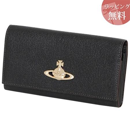 ヴィヴィアンウエストウッド 財布 長財布 カードケース付き レディース EXECUTIVE ブラック Vivienne Westwood ヴィヴィアン ウエストウッド