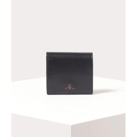 ヴィヴィアンウエストウッド 折財布 コッパー 二つ折りミニ財布 ブラック Vivienne Westwood ヴィヴィアン ウエストウッド