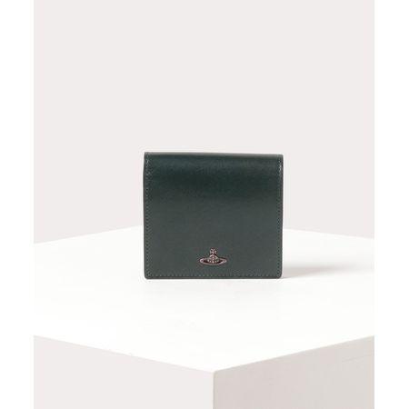 ヴィヴィアンウエストウッド 折財布 コッパー 二つ折りミニ財布 グリーン Vivienne Westwood ヴィヴィアン ウエストウッド