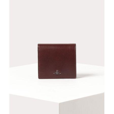 ヴィヴィアンウエストウッド 折財布 コッパー 二つ折りミニ財布 ブラウン Vivienne Westwood ヴィヴィアン ウエストウッド