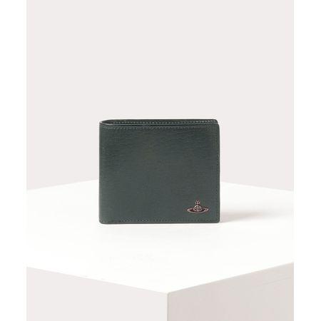 ヴィヴィアンウエストウッド 折財布 コッパー 二つ折り財布 グリーン Vivienne Westwood ヴィヴィアン ウエストウッド