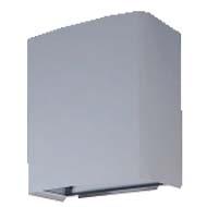 三菱 換気扇部材 【UW-25TDH(M)B】有圧換気扇システム部材 ウェザーカバー(三菱電機システムサービス製)