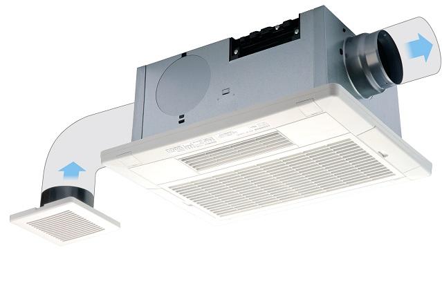 高須産業 浴室換気乾燥暖房機2室換気タイプ/電動ダンパー付スタンダードモデル【BF-532SHD】