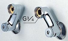 KVK【Z420】60mm、水抜き、流量調節止水弁付ソケット