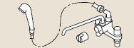 リンナイ  部材【HL-SS-MKS】(24-5069) シャワー金具