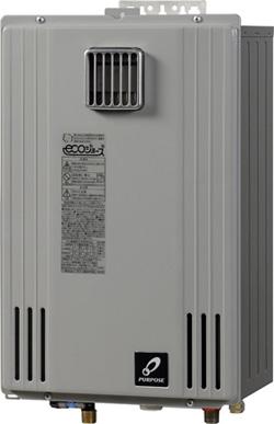 ♪パーパスガス給湯器【GS-H2000W-1】ecoジョーズGSシリーズ壁掛給湯専用タイプ20号