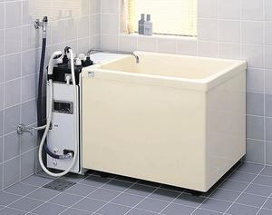 ###πINAX 浴槽【PB-802C】FRP製・800サイズ三方全エプロン