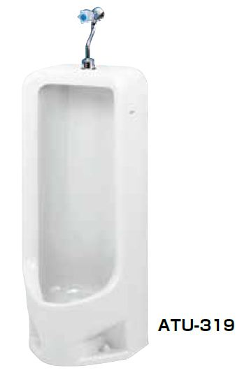 ###ネポン 小便器【ATU-319】デラックスホワイトプリティーナ レギュラーサイズ 和式便器 カラン水栓 300シリーズ パンタロン方式