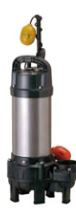 ツルミポンプ【80PNA23.7】雑排水用 水中ハイスピンポンプ 電圧200V じか入 自動形