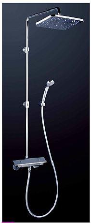 KVK 水栓金具【KF3060】オーバーヘッドシャワー付サーモ