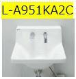 INAX LIXIL 洗面器【L-A951KA2C】壁給水 水石鹸供給栓付