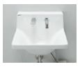 INAX LIXIL 洗面器【L-A951M2D】床給水 水石鹸供給栓付