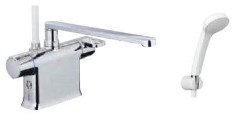 ▽INAX/LIXIL シャワーバス水栓【BF-WM646TSG(300)】クロマーレS サーモスタット付シャワーバス水栓 エコフルスプレーシャワー