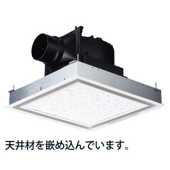 パナソニック 換気扇【FY-24J8V/26】天井埋込形換気扇 別売ルーバー組合品番