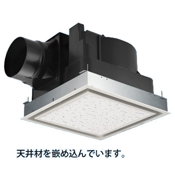 パナソニック 換気扇【FY-32JK8/26】天井埋込形換気扇 別売ルーバー組合品番