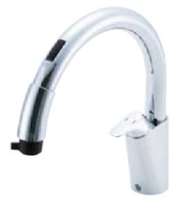 INAX/LIXIL【SF-NB454SX】キッチン用タッチレス水栓 ナビッシュ 乾電池式B5タイプ