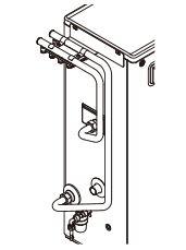 コロナ 温水暖房システム関連部材【UHB-MH-PE3】架橋ポリ4回路ヘッダーセット