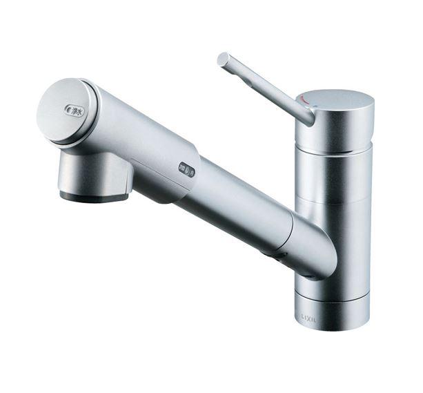 INAX/LIXIL オールインワン浄水栓【JF-1456SYX/SE(JW)】eモダンタイプ (エコハンドル) 逆止弁