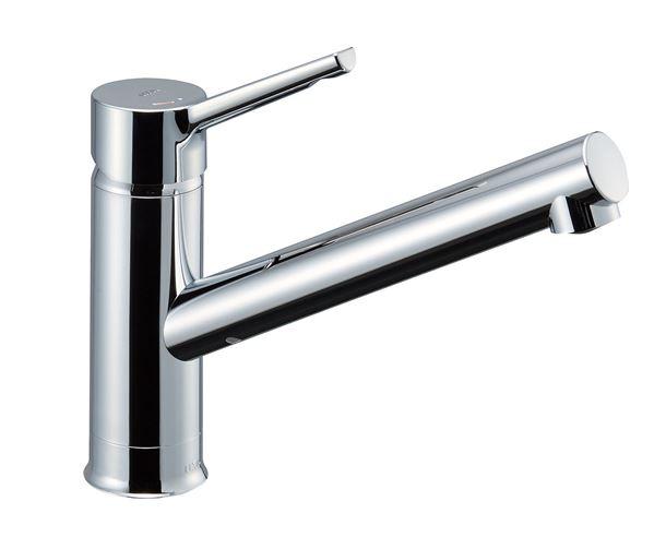 INAX/LIXIL キッチン用水栓金具 ワンホールタイプ【SF-WM420SYXN(JW)】シングルレバー水栓 クロマーレS  寒冷地対応
