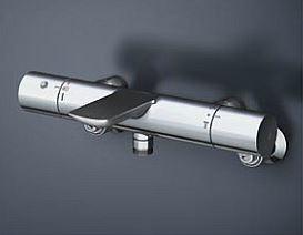 TOTO 浴室用水栓【TBV01404J】水栓本体 壁付サーモスタット 偏心脚