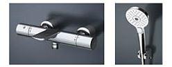 TOTO 浴室用水栓【TBV01S06J】 壁付サーモスタット コンフォートウエーブ 3モード