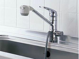 TOTO 水栓金具【TKG38BS】浄水器兼用 元止め式台付 シングル