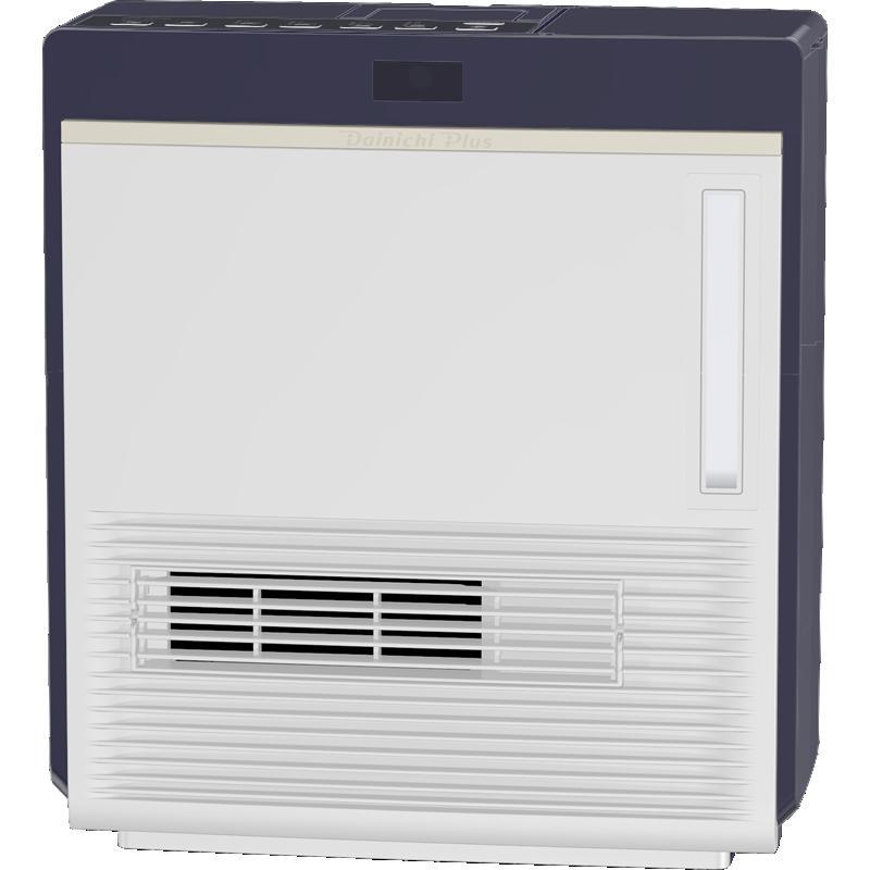 ダイニチ工業 暖房機器【EFH-1217D(A)】加湿セラミックファンヒーター ブルー