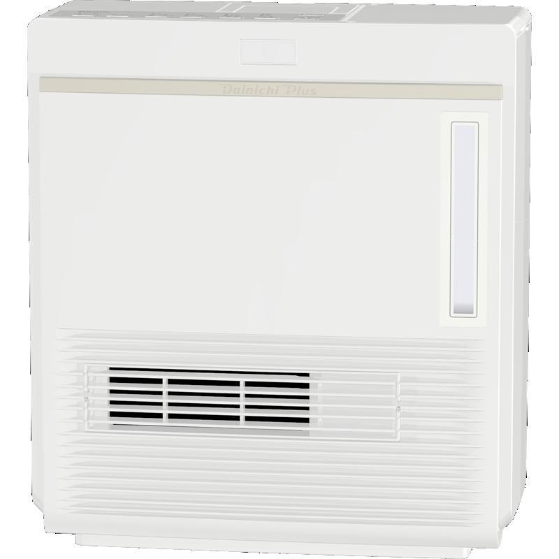 ダイニチ工業 暖房機器【EFH-1217D(W)】加湿セラミックファンヒーター ホワイト